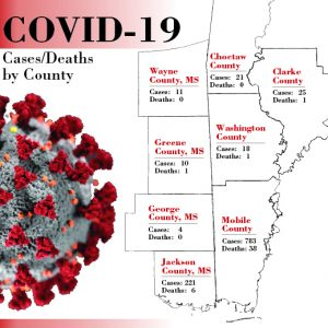 Virus Cases by County