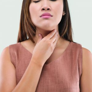 Sore throat is a symptom